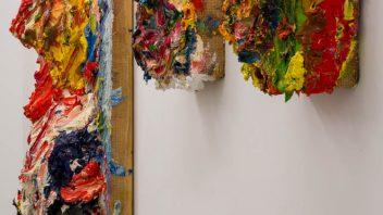 「顔の奥行き」展示風景4