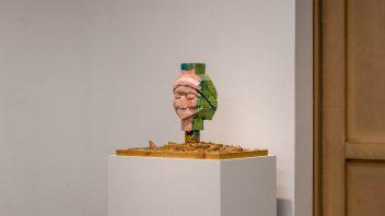 「顔の奥行き」展示風景5
